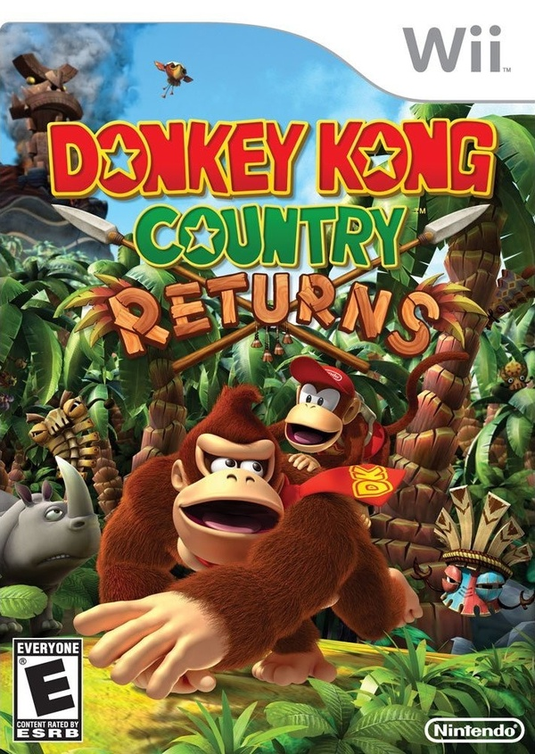 Cover zu Donkey Kong Country Returns