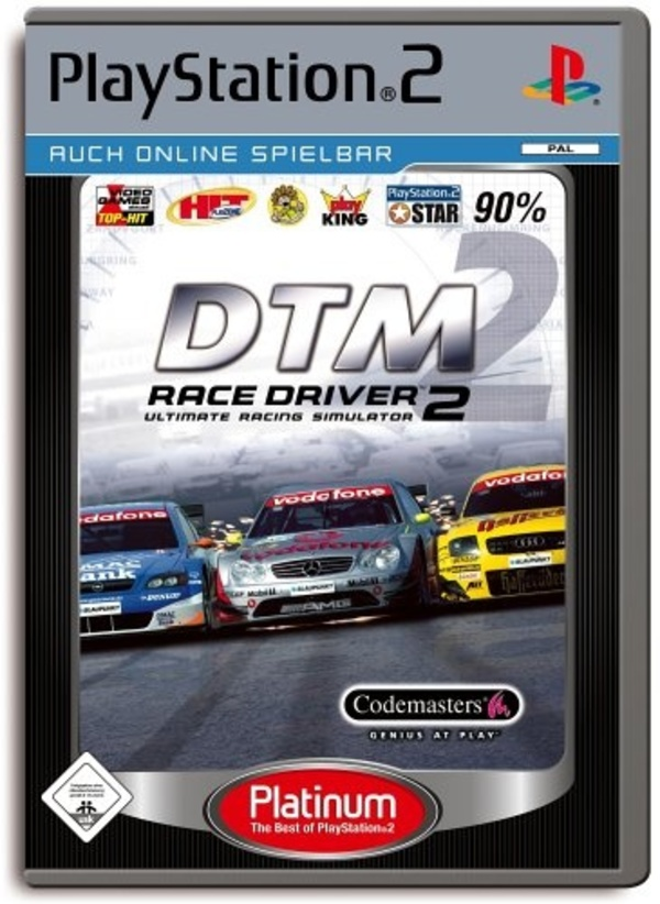 Cover zu DTM Race Driver 2