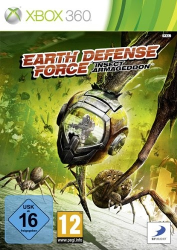 Cover zu Earth Defense Force: Insect Armageddon