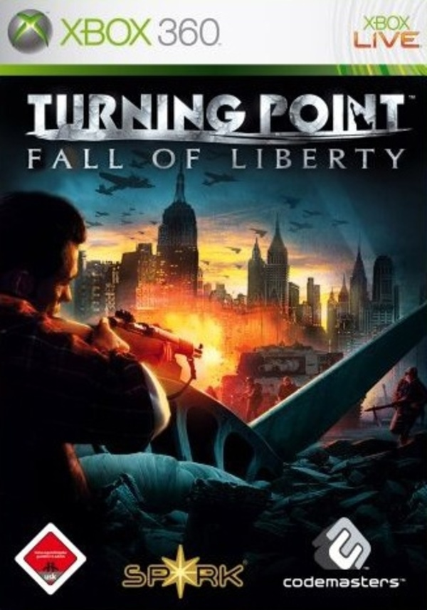 Cover zu Turning Point: Fall of Liberty
