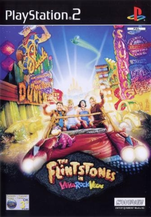 Cover zu Die Flintstones in Viva Rock Vegas