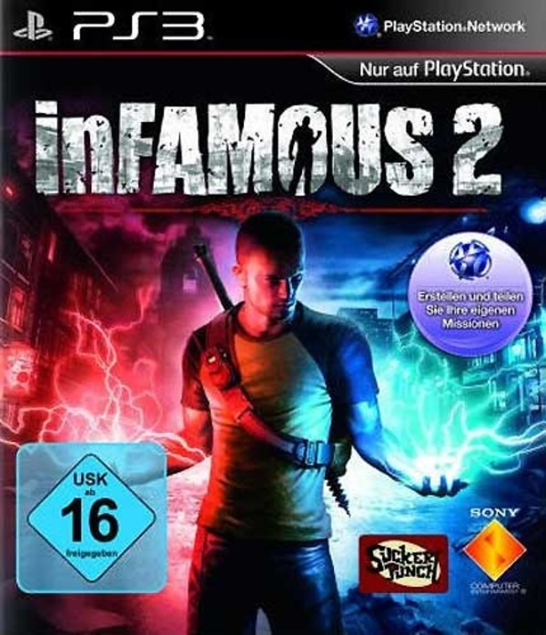 Cover zu inFamous 2