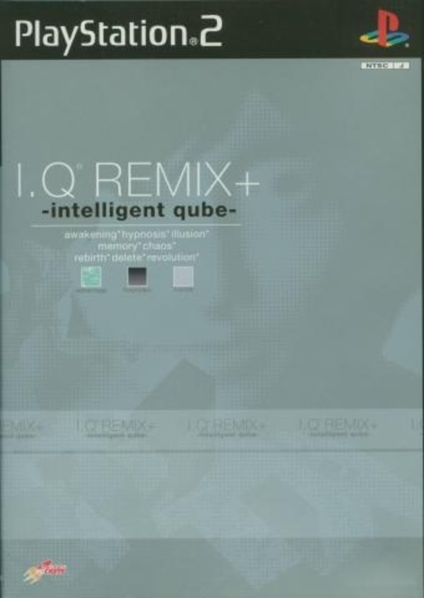 Cover zu I.Q. Remix+: Intelligent Qube