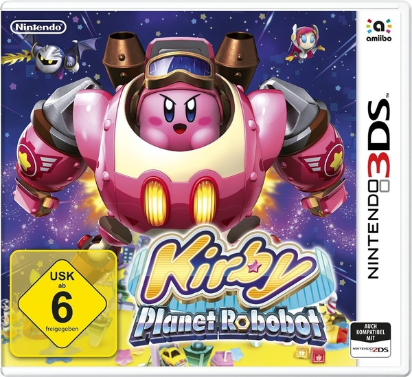 Cover zu Kirby: Planet Robobot