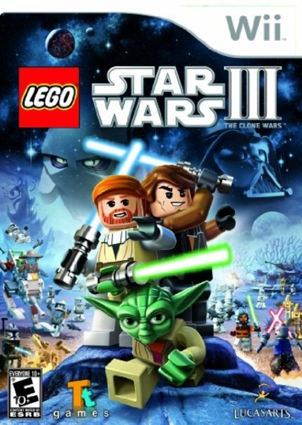 Cover zu Lego Star Wars III: The Clone Wars