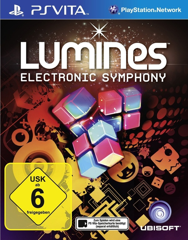 Cover zu Lumines: Electronic Symphony