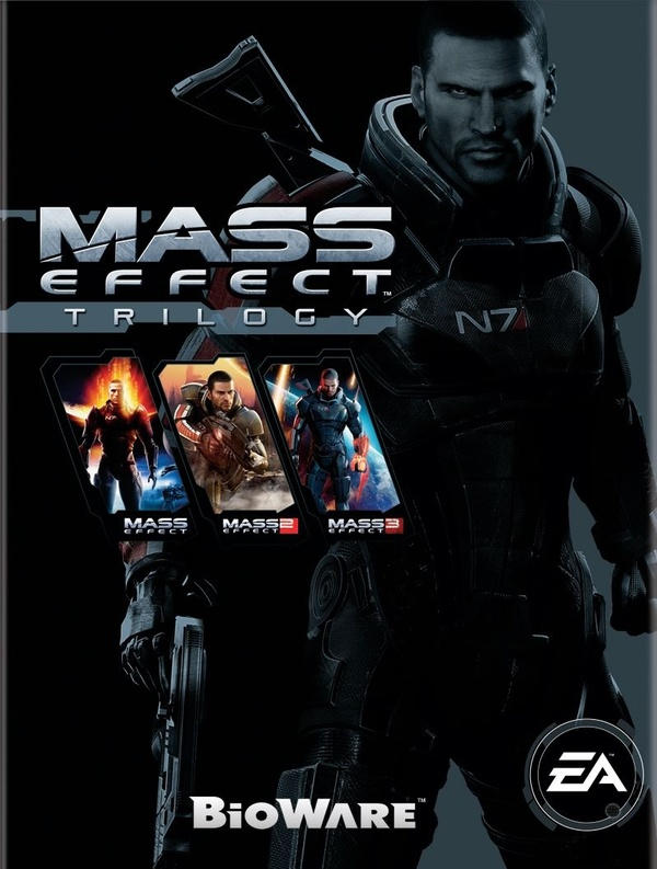 Cover zu Mass Effect