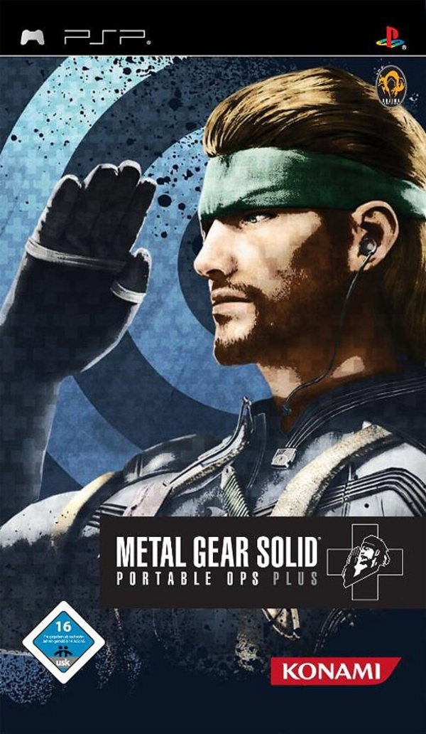 Cover zu Metal Gear Solid: Portable Ops Plus