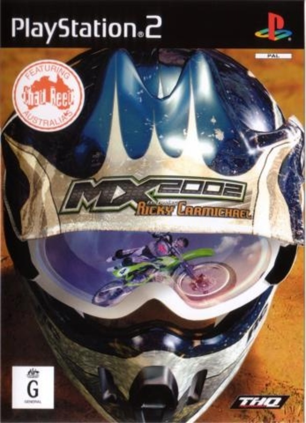 Cover zu MX 2002 featuring Ricky Carmichael