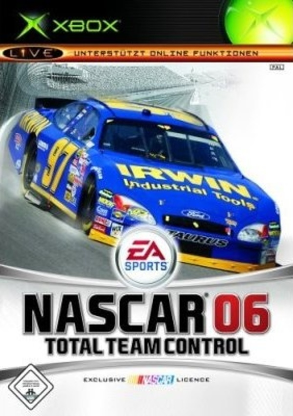 Cover zu NASCAR 06: Total Team Control