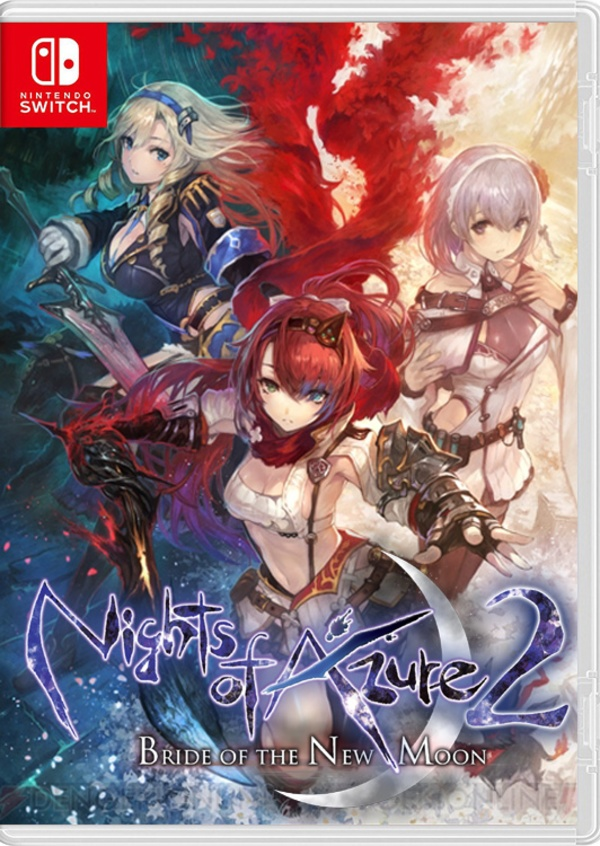 Cover zu Nights of Azure 2: Bride of the New Moon