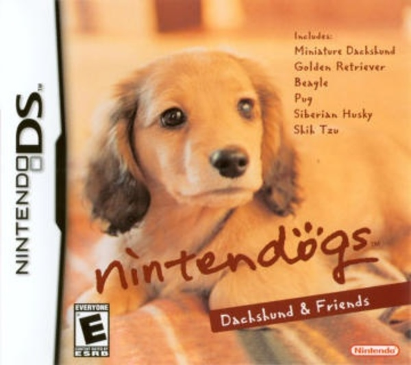 Cover zu Nintendogs