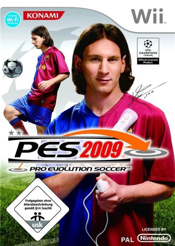 Cover zu Pro Evolution Soccer 2009