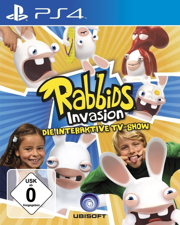Cover zu Rabbids Invasion: The Interactive TV Show