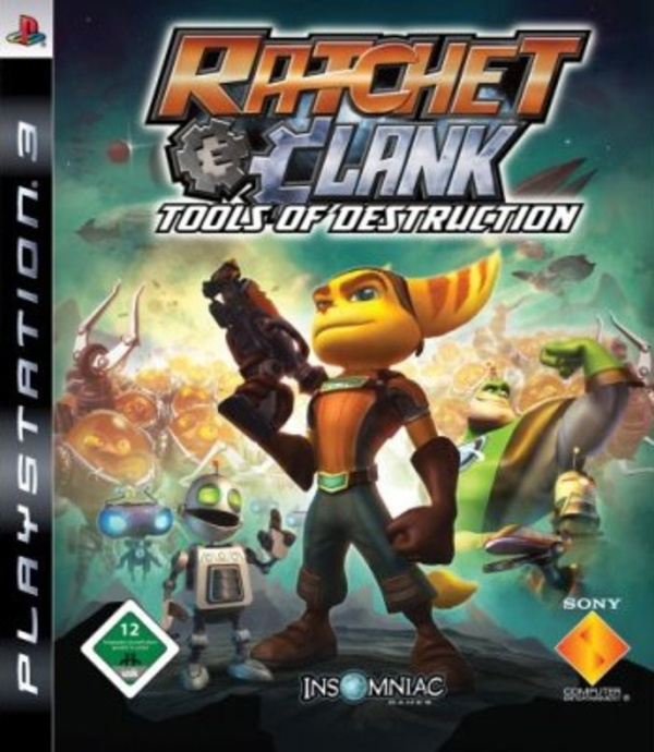 Cover zu Ratchet & Clank: Tools of Destruction