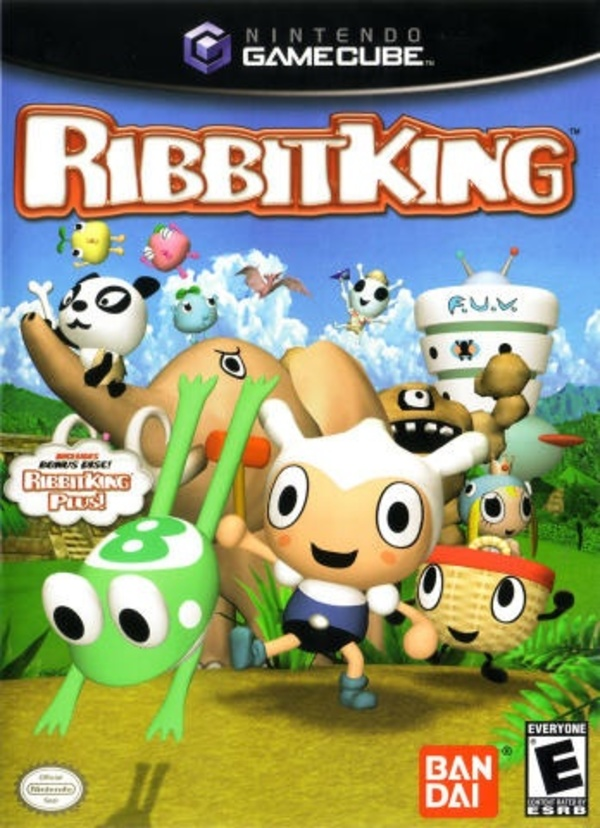 Cover zu Ribbit King