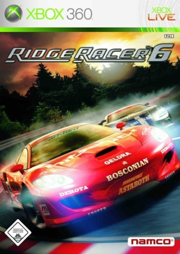 Cover zu Ridge Racer 6