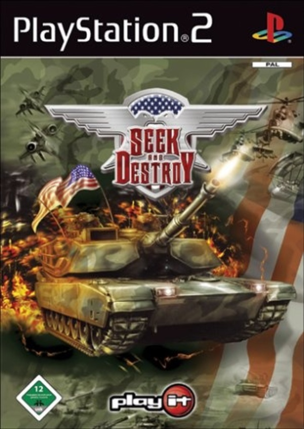 Cover zu Seek and Destroy
