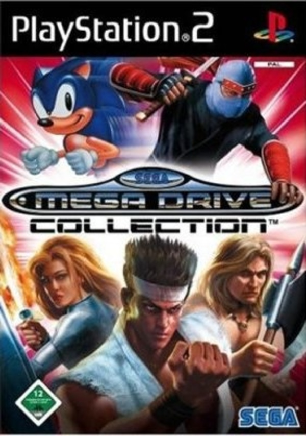 Cover zu SEGA Mega Drive Collection