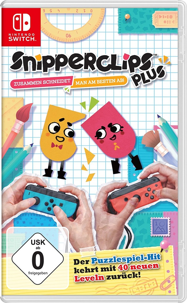 Cover zu Snipperclips Plus