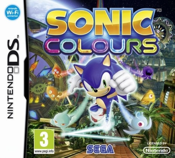 Cover zu Sonic Colours