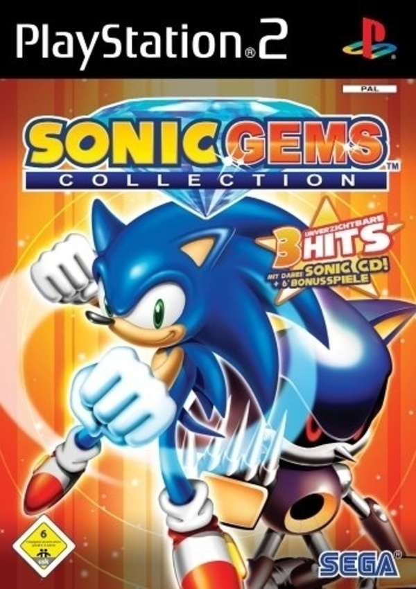 Cover zu Sonic Gems Collection