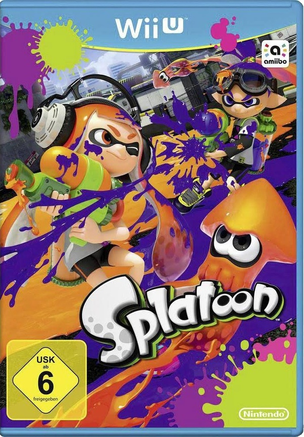 Cover zu Splatoon