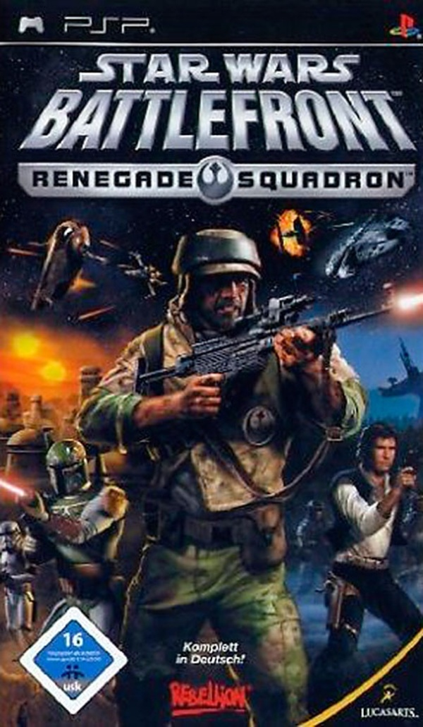 Cover zu Star Wars Battlefront: Renegade Squadron
