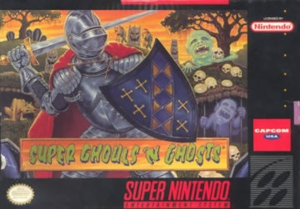 Cover zu Super Ghouls'n Ghosts