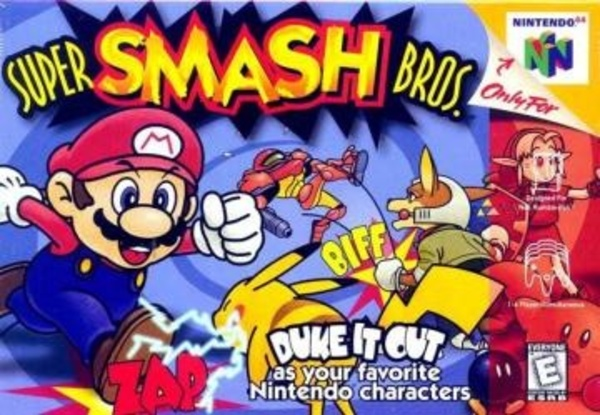 Cover zu Super Smash Bros.