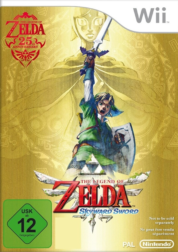 Cover zu The Legend of Zelda: Skyward Sword