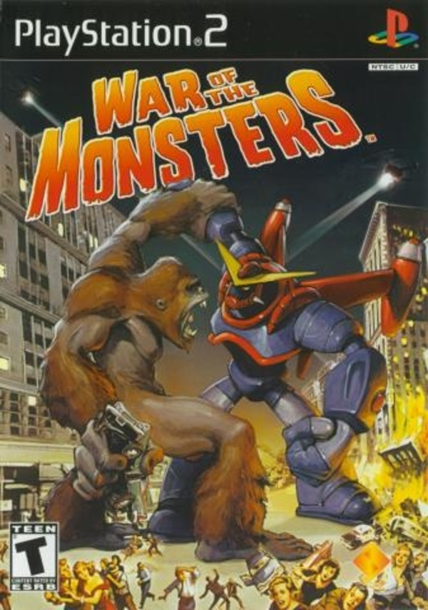 Cover zu War of the Monsters