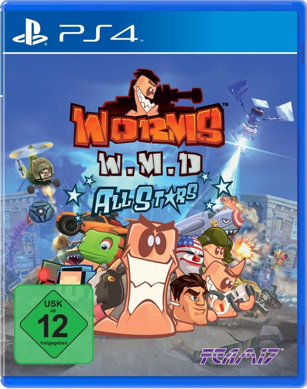 Cover zu Worms W.M.D