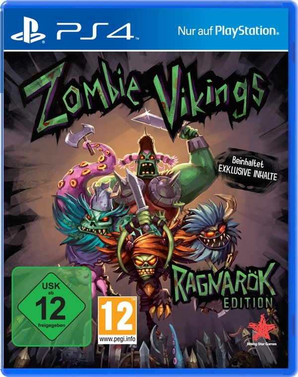Cover zu Zombie Vikings Ragnarök Edition