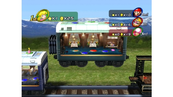 Screenshot zu Mario Party 8 (Wii) -