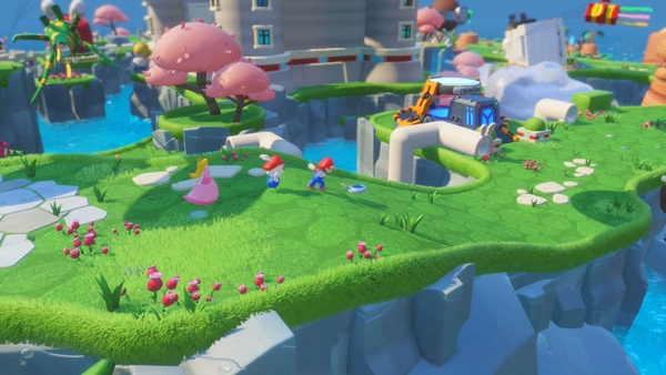 Screenshot zu Mario + Rabbids: Kingdom Battle (Nintendo Switch) - Screenshots