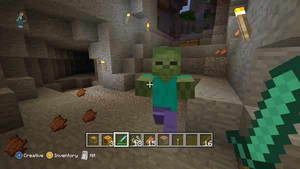 Screenshot zu Minecraft: Xbox 360 Edition (PS4) - Screenshots