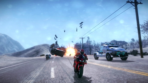Screenshot zu Road Redemption (Xbox One) - Screenshots