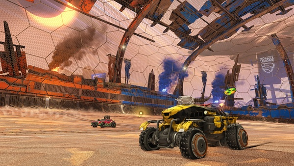 Screenshot zu Rocket League (Xbox One) - Screenshots zum DLC »Chaos Run«