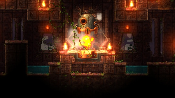 Screenshot zu Steamworld Dig 2 (PS4) - Screenshots