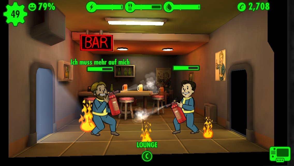 fallout shelter tipps f r den bunkerbau gamepro. Black Bedroom Furniture Sets. Home Design Ideas