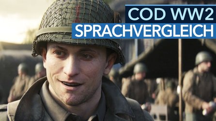 Call of Duty: WW2 - Sprachvergleich-Video: Deutsche & englische Version im Check