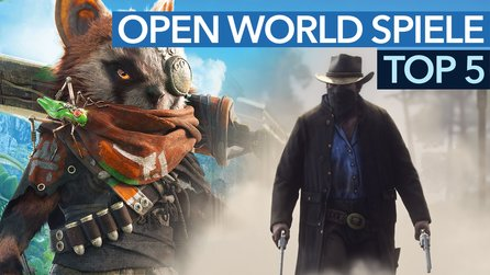 Top Open-World-Spiele 2018 - Video: Groß, größer - Open World