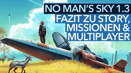 No Man's Sky 1.3 - Video-Fazit: Mega-Update »Atlas Rises« mit Story, Missionen & Multiplayer bringt die Stimmungs-Wende