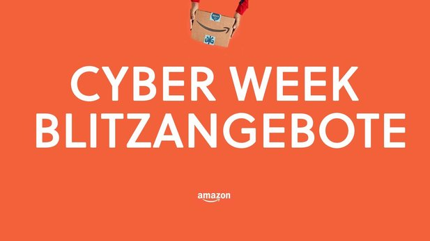 Amazon Cyber Monday Blitzangebote am 22. November.