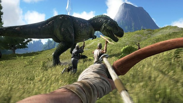Ark: Survival Evolved - Ankündigungs-Trailer zum Dino-Survival-Spiel