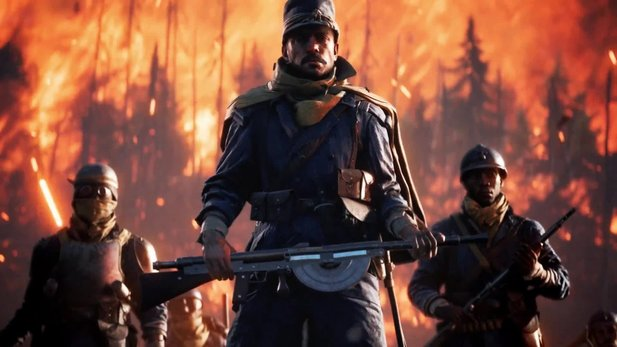 Battlefield 1 - Frankreich-DLC »They Shall Not Pass« im Ingame-Trailer