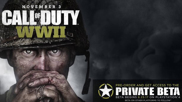 Call of Duty: WW2 - Inhalte der Private-Beta im Trailer vorgestellt