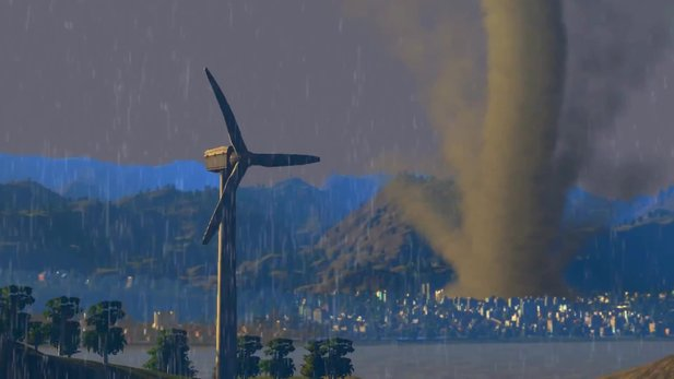 Cities: Skylines - Trailer: »Natural Disasters« mit Tornado, Feuer und Meteor