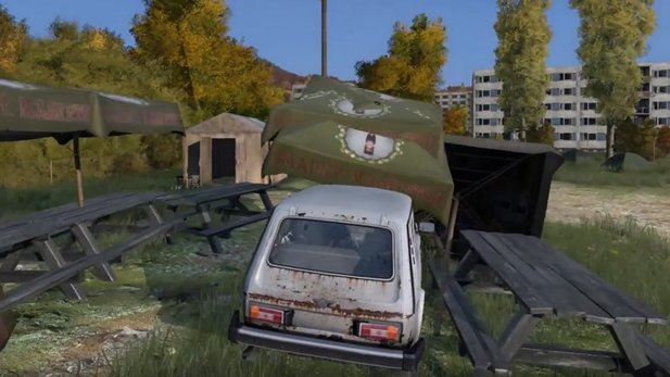 DayZ - Gameplay-Video stellt Objekt-Interaktions-Prototypen vor